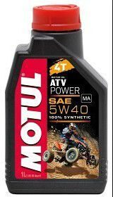 Motul ATV Power 4T 5W40 1л. синт. масло моторное
