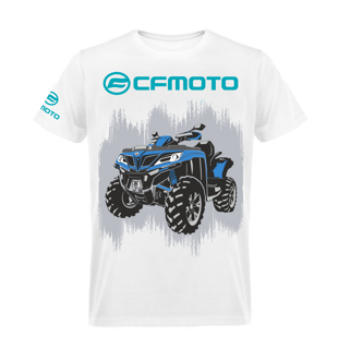 Футболка CFMOTO T-shirt white CFORCE М