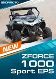Старт продаж ZFORCE 1000 Sport EPS!