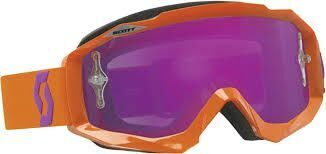 Очки Hustle MX, orange/purple chrome