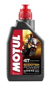 Motul Scooter Power 4T 5W40 1л. синт.