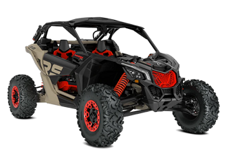 CAN-AM MAVERICK X RS ТURBO RR SMART-SHOX