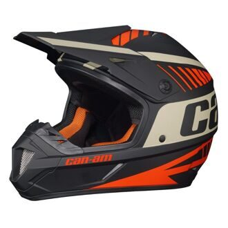 Can-Am XC-4 Cross Team Helmet (DOT/ECE) Men's&Ladies'  Orange  M Шлем защитный унисекс